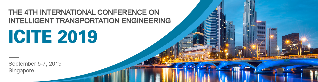 ICITE 2019 | Intelligent Transportation Engineering